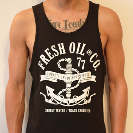 Image of ANCHOR TANK - BLACK