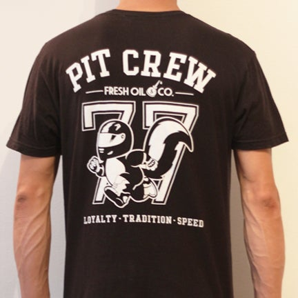 Image of PIT CREW TEE - BLACK