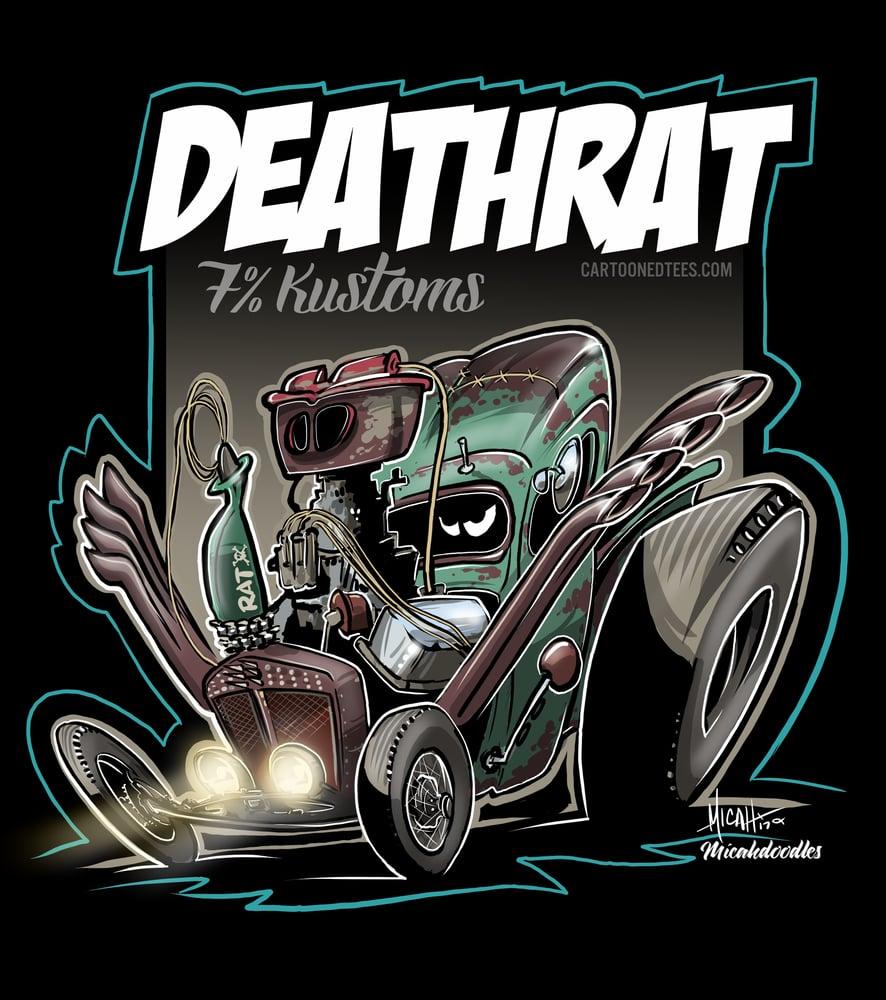 Image of DEATHRAT!  MANCAVE BANNER
