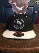Image of White and Black Bam's Snap Back