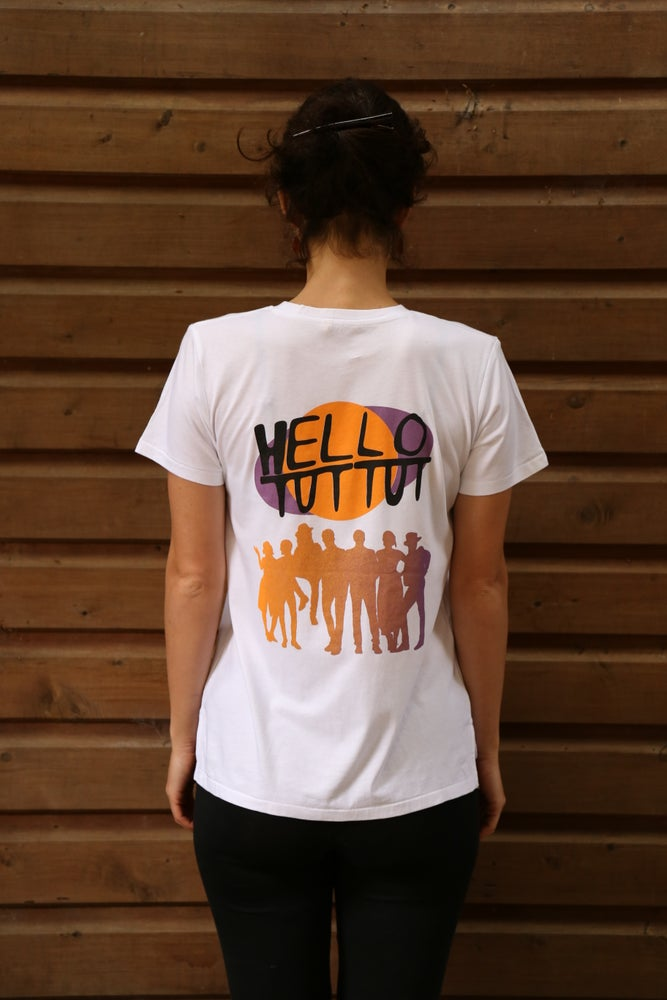 Image of Hello Tut Tut Adult T-Shirt