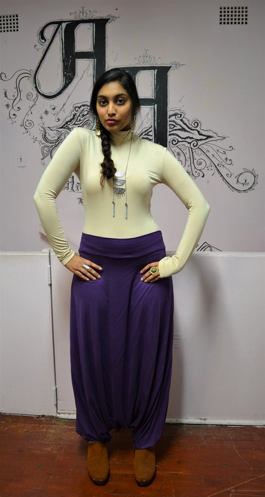 Image of Wandering Harem Pants (Purple).