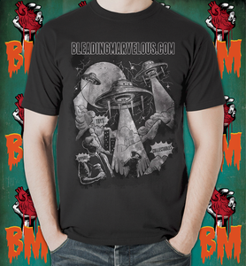 Image of Bleading Marvelous Sci-Fi Alien Craft Shirt