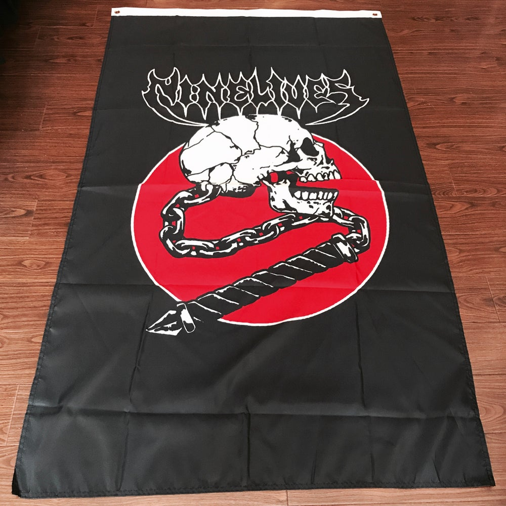 Image of Skull Crusher Flag