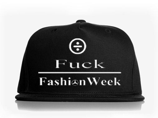 Image of Konquer F*** Fashion Week snapback