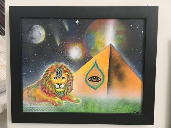Image of Eye of the Beholder (framed)