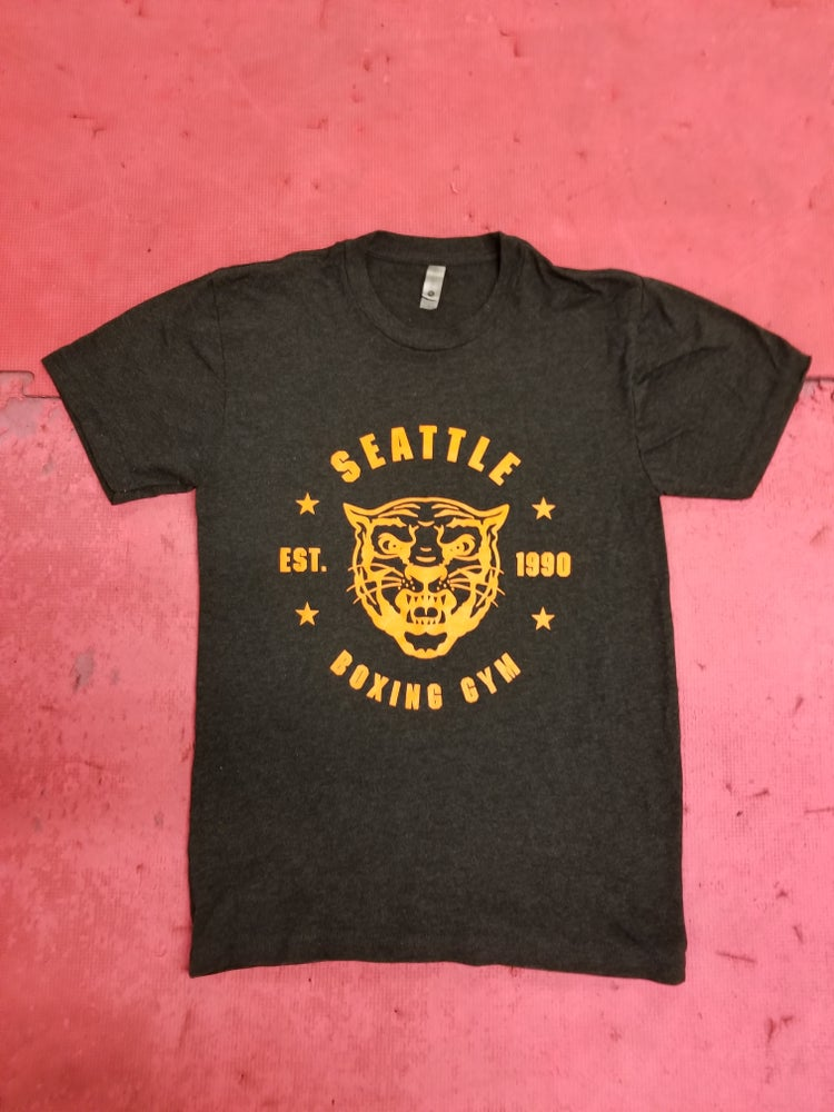 Image of SBG T-Shirt Black/Orange