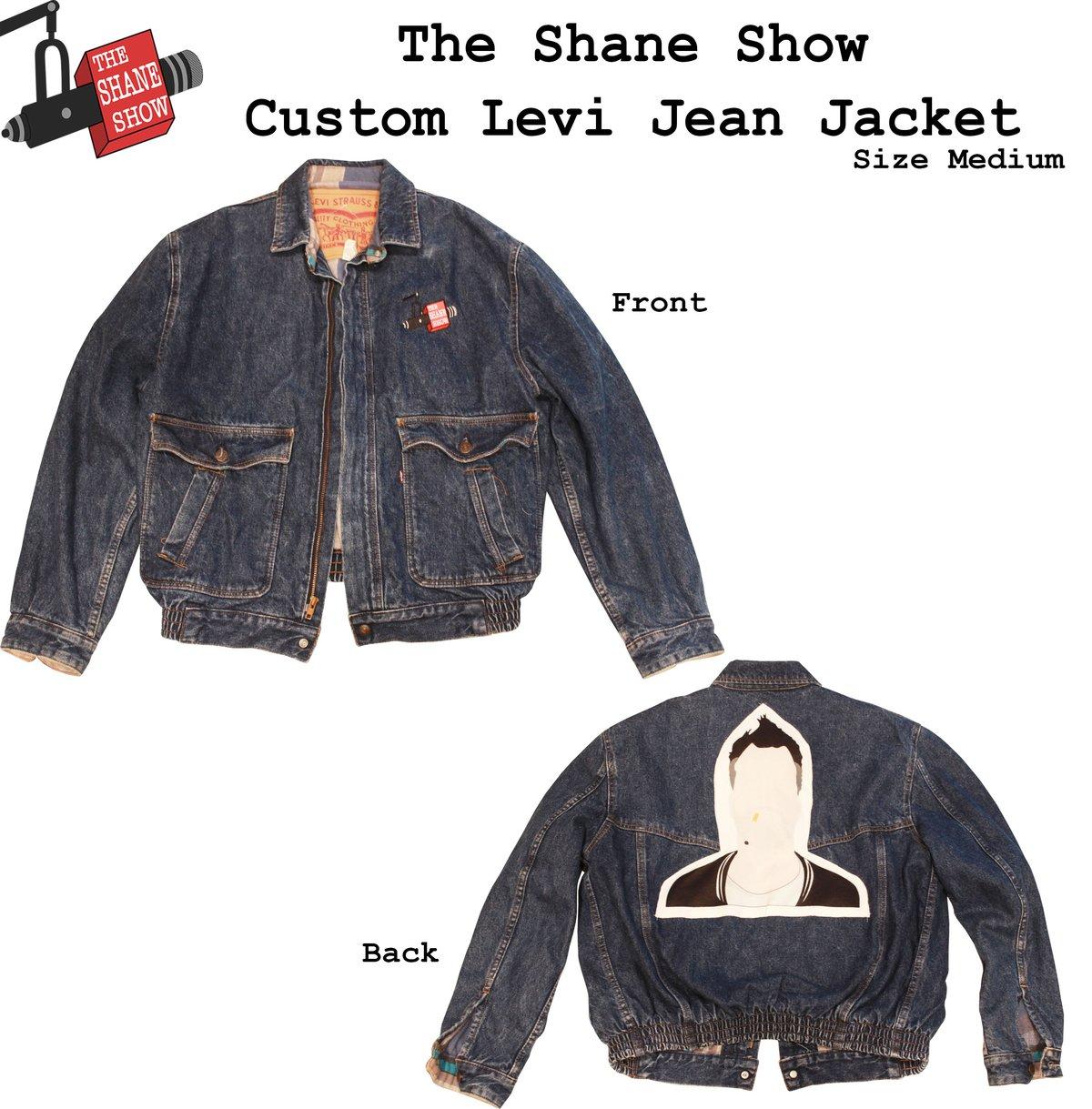 Image of Custom 1 of 1 Shane Show Levi Jacket