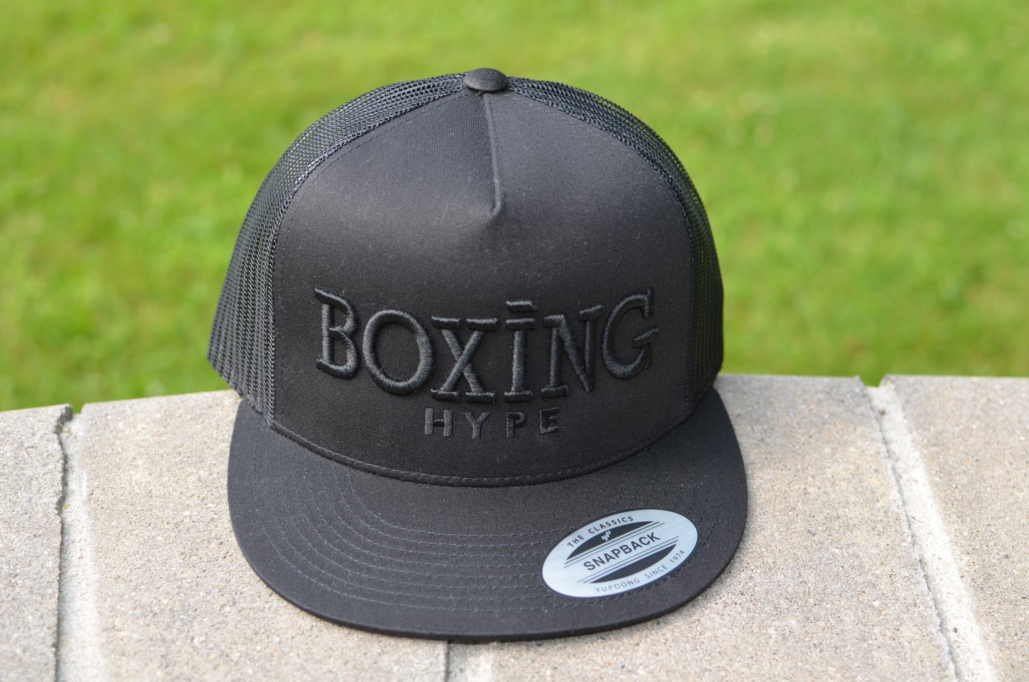 Image of Black BoxingHype Trucker SnapBacks