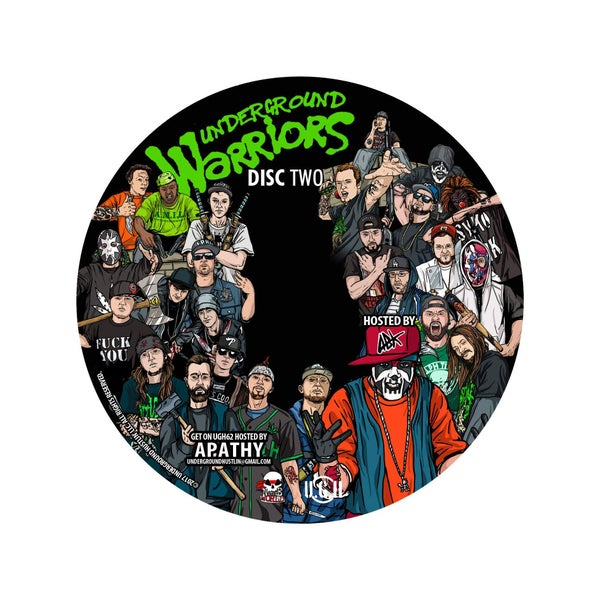 Image of UGH61 DISC 2 HOSTED BY ANYBODY KILLA