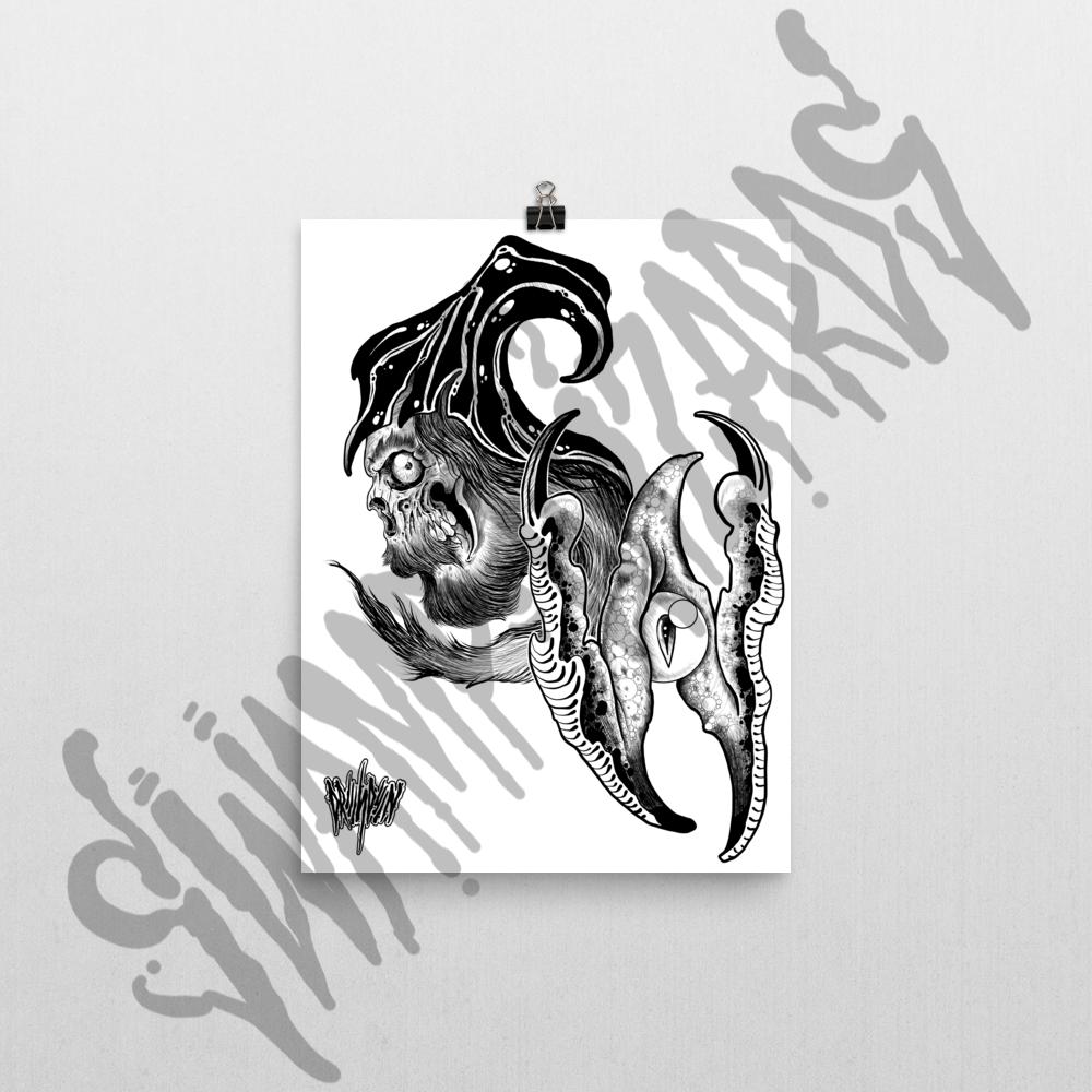 sw print 12x16 swamp wizards