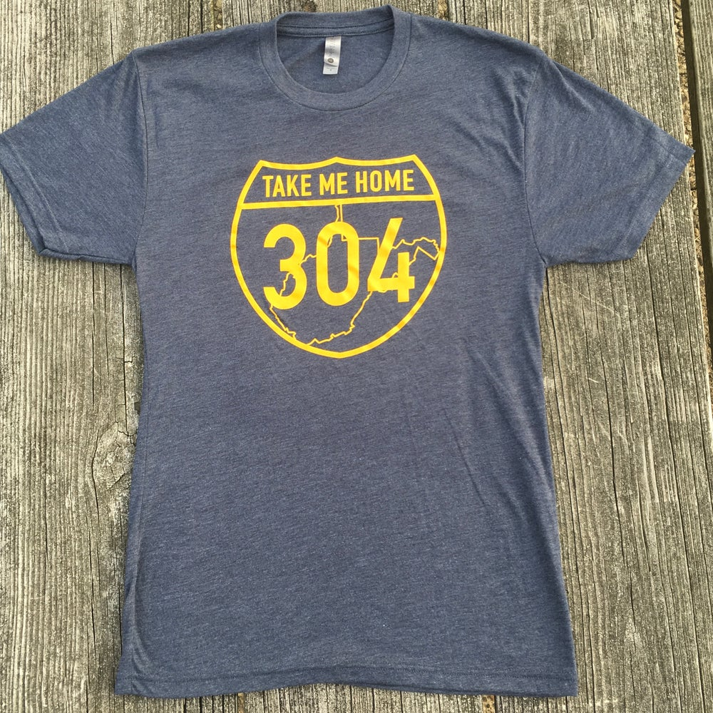 Image of Take Me Home 304 Vintage Navy T-Shirt
