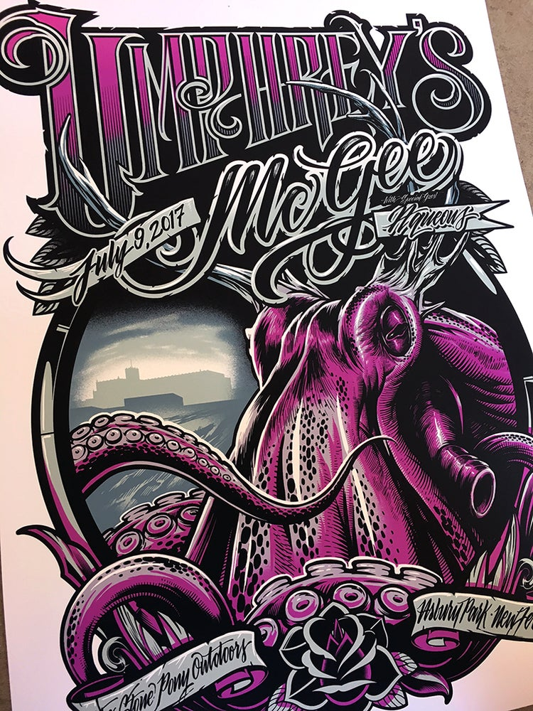 Image of Umphrey's McGee New Jersey Poster