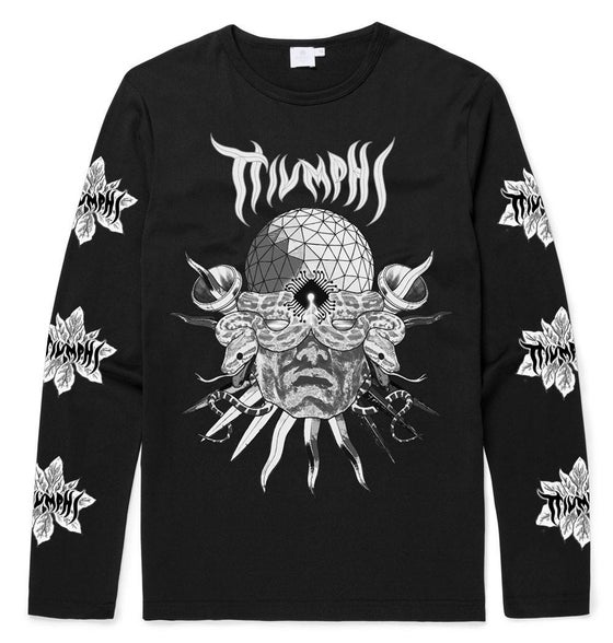 Image of TRIUMPHS Computer Man Long Sleeve T-Shirt