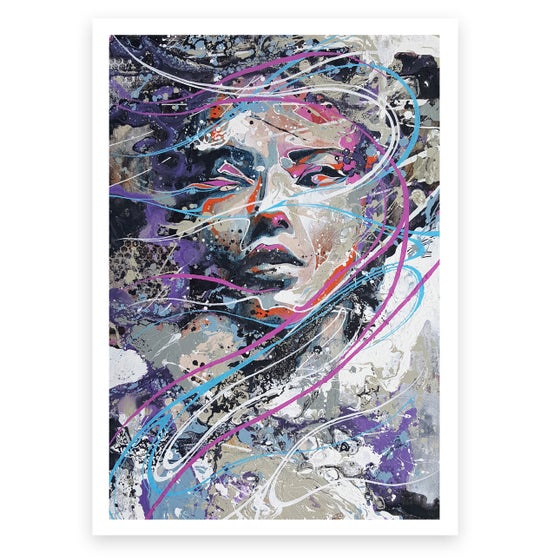 Image of In The Saddle Of A Whirlwind OPEN EDITION PRINT - FREE WORLDWIDE SHIPPING