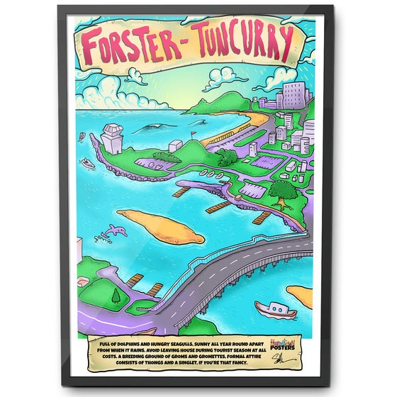 Image of Forster Tuncurry Poster