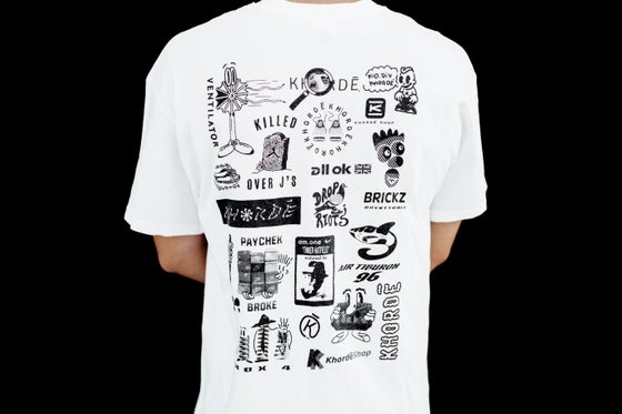 Image of MULTI LOGO TEE