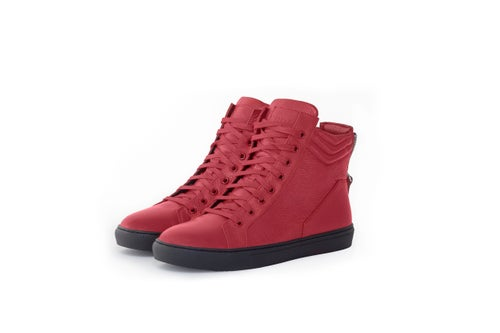 Image of Michael - Red Leather
