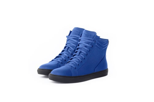 Image of Michael - Blue Leather