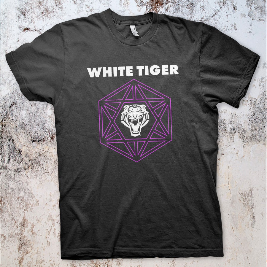 Image of White Tiger Logo Shirt