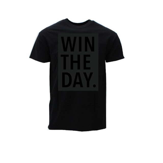 "Image of Limited Edition ""WIN THE DAY"" T-shirt"