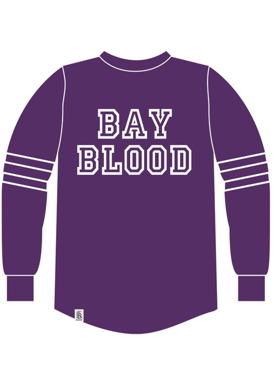 Image of Women's College Shirt (purple)