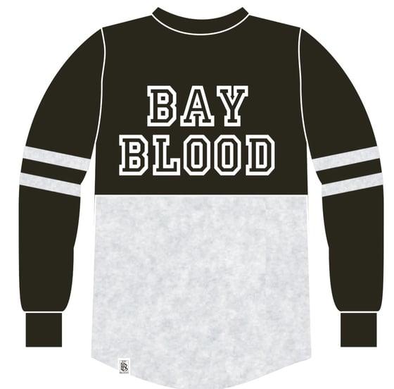 Image of Women's College Shirt (black/Grey)