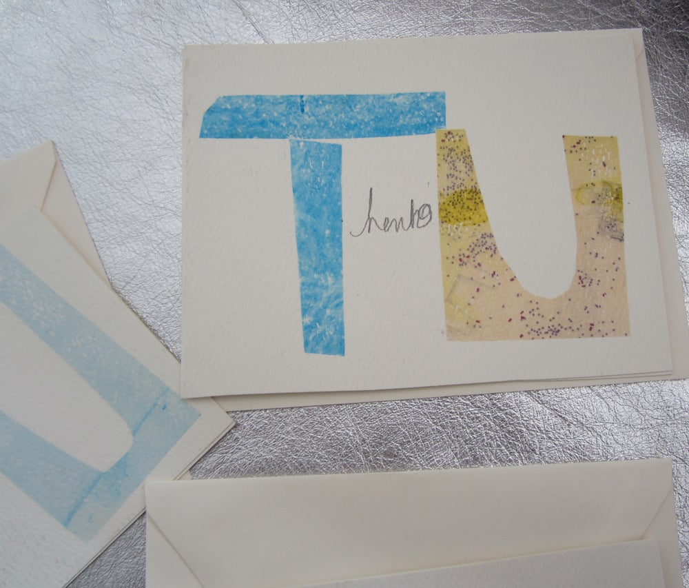Image of Thank U Cards