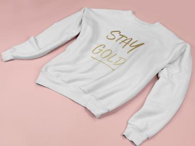 Image of Stay Gold Original Crew Neck