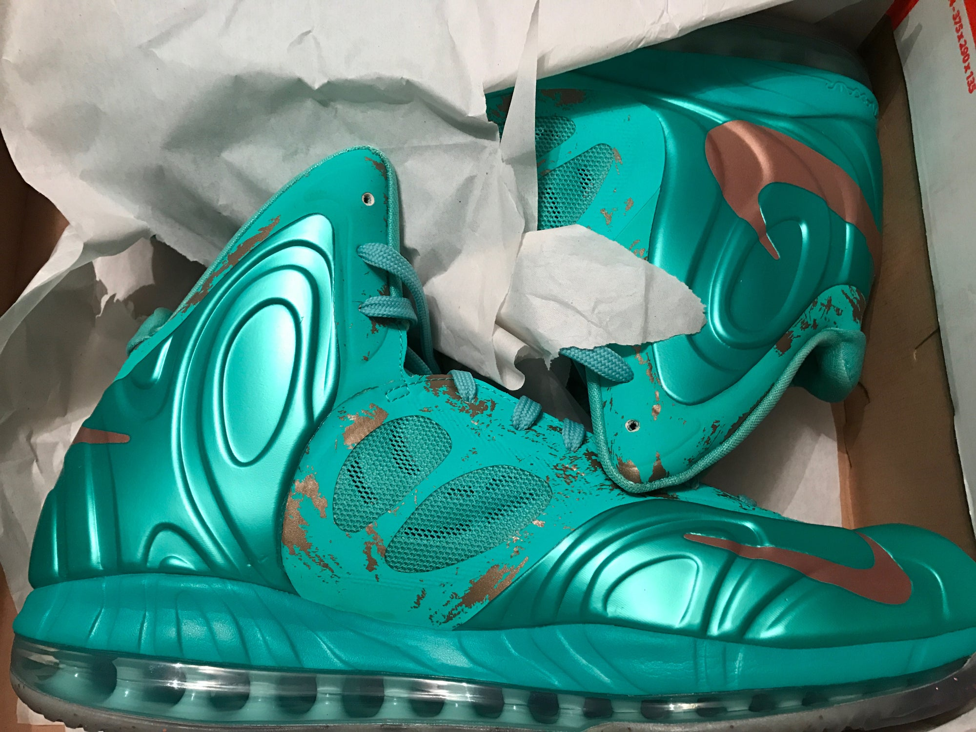 Image of Nike Hyperposite Statue of Liberty 524862-301 Size 13 DS - New