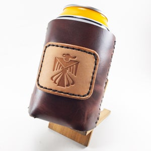 Image of Leather Koozie