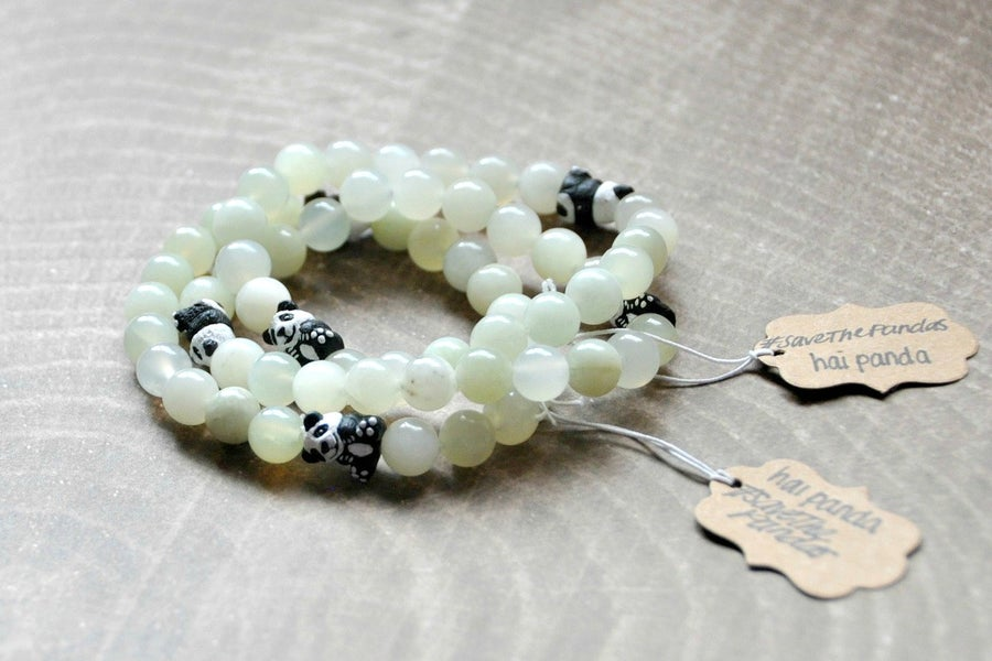 Image of Mountain Jade Panda Bracelet