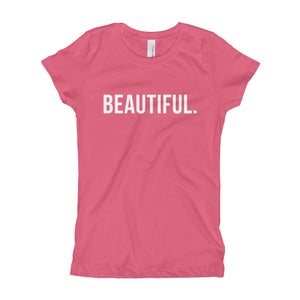 "Image of Girls Selfie ""Beautiful"" Tee (Youth) - More Colors"