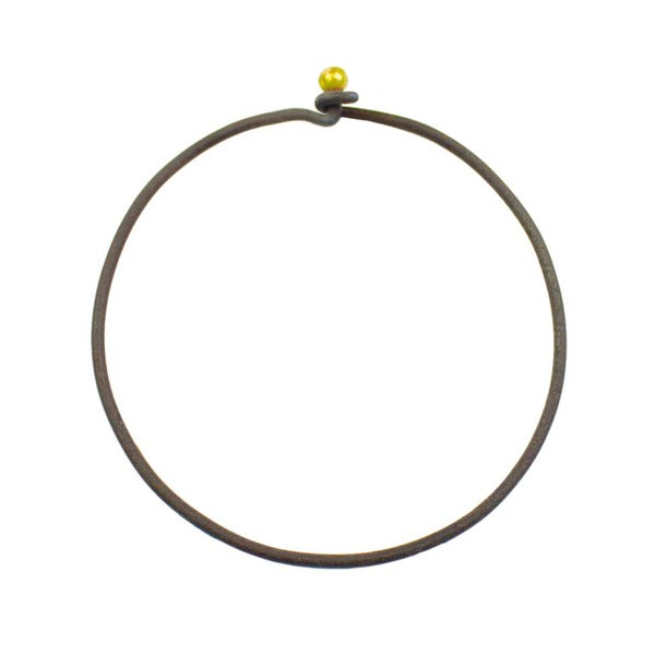 Image of Ulno Bangle ~ Iron & Gold