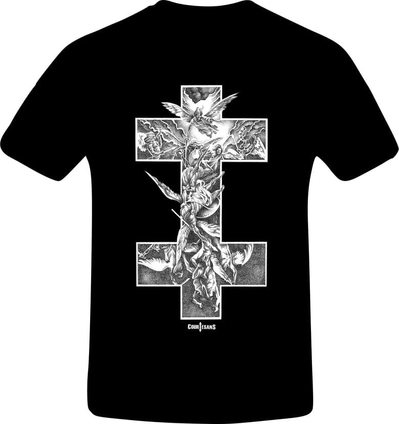 Image of Courtesans Archangel T-shirt Womens