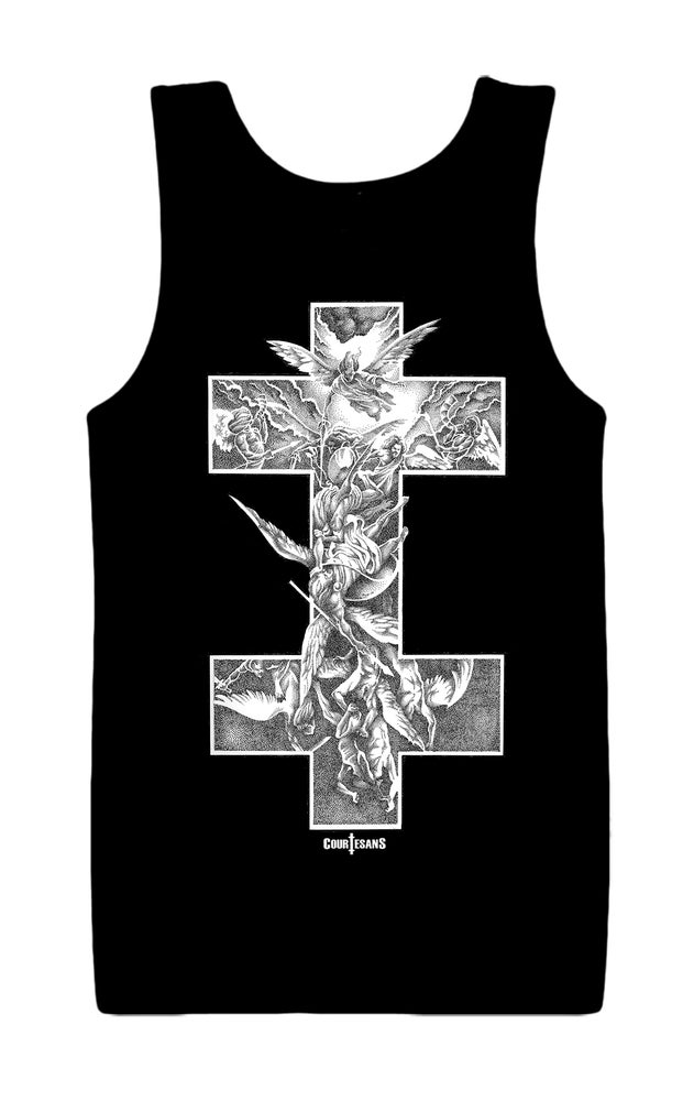 Image of Courtesans Archangel Unisex Jersey Tank