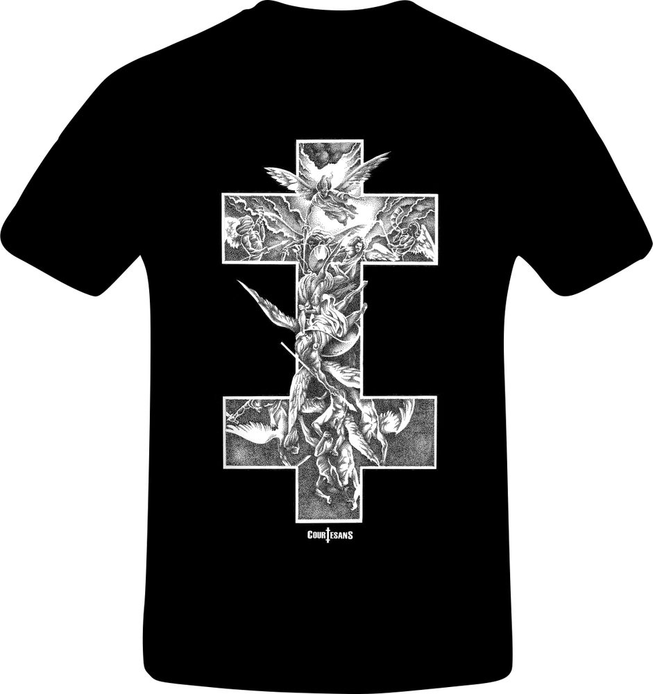 Image of Courtesans Archangel T-shirt Mens
