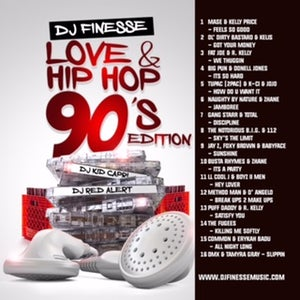 Image of LOVE & HIP HOP MIX VOL. 15 (90s HIP-HOP EDITION)