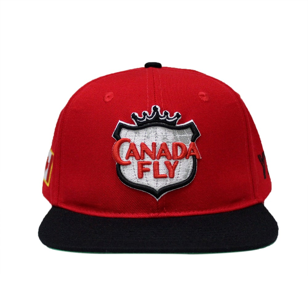 Image of Canada Fly Snapback / Black