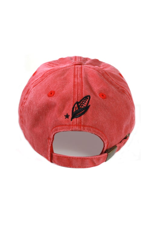 Image of 75 Cabral Red Dad Hat