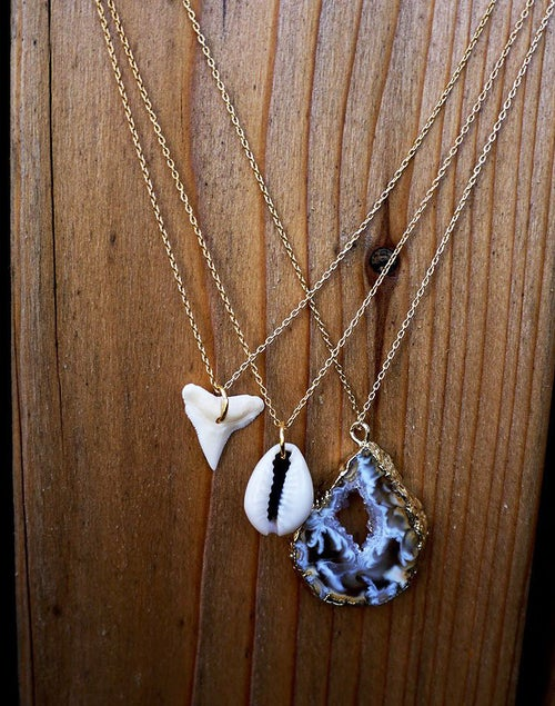 Image of Shark Tooth Adjustable Necklace
