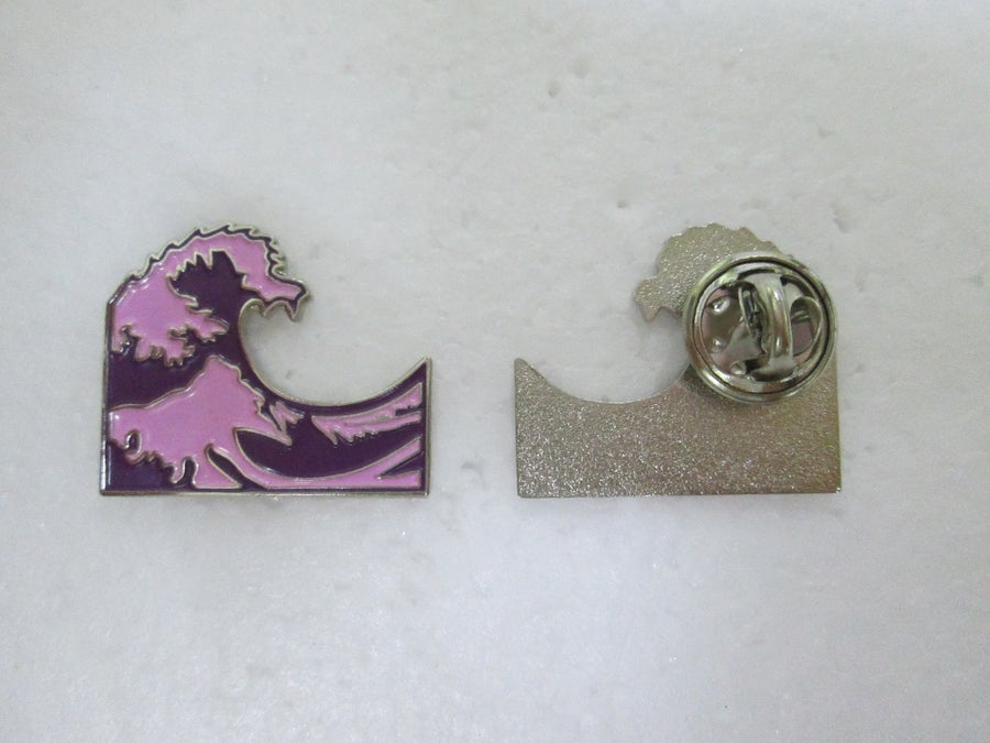 "Image of Siplean ""Purple Wave"" Hat Pin"