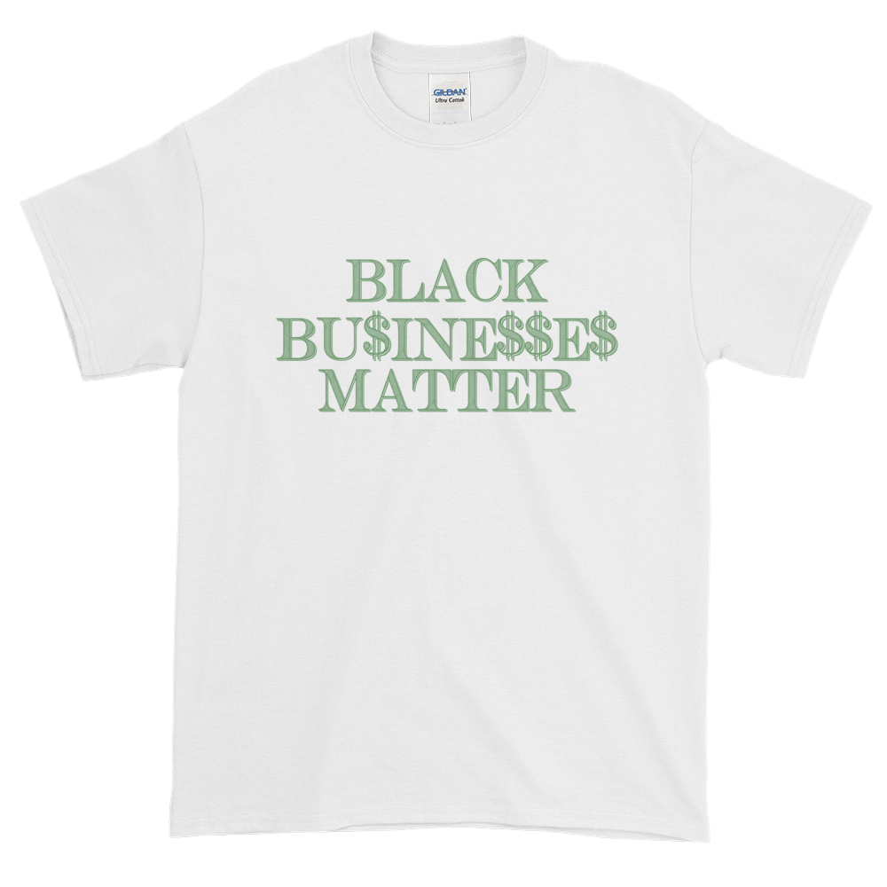 Image of Black Businesses Matter White