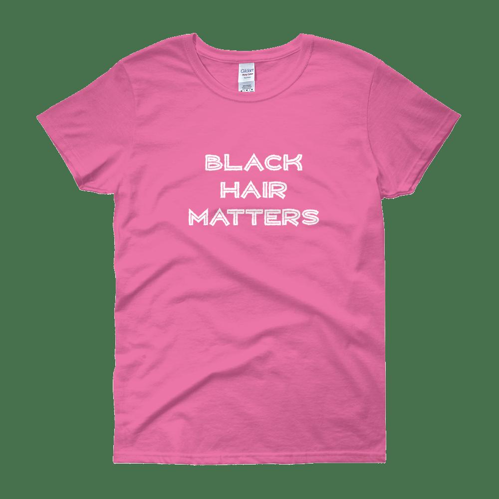 Image of Black Hair Matters Pink
