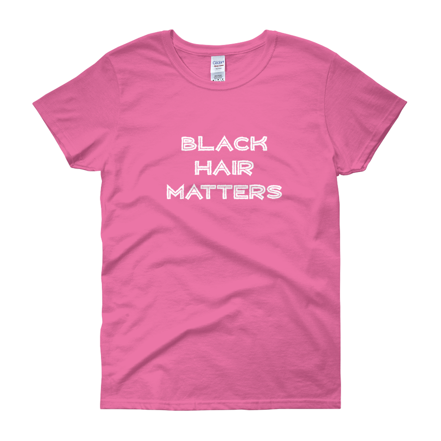 Image of Black Hair Matters Pink