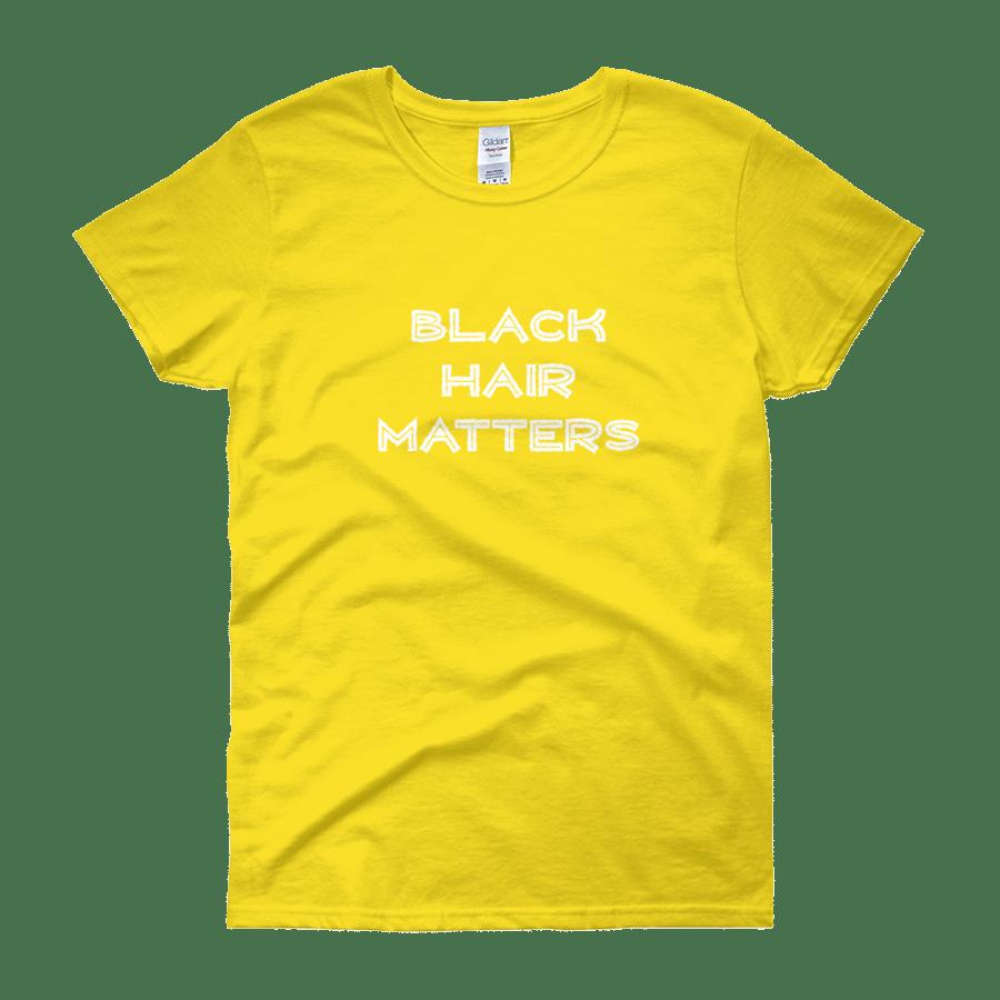 Image of Black Hair Matters Yellow