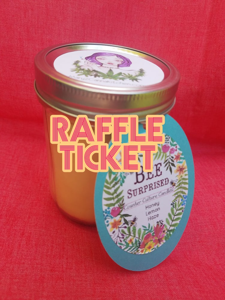Image of CANDLE RAFFLE