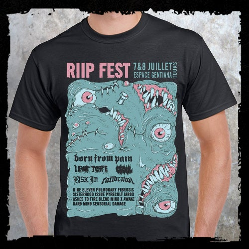 Image of RIIP Fest T-shirt // 17' edition