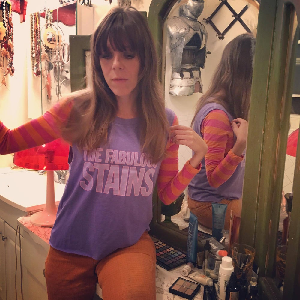 Image of THE FABULOUS STAINS tank top