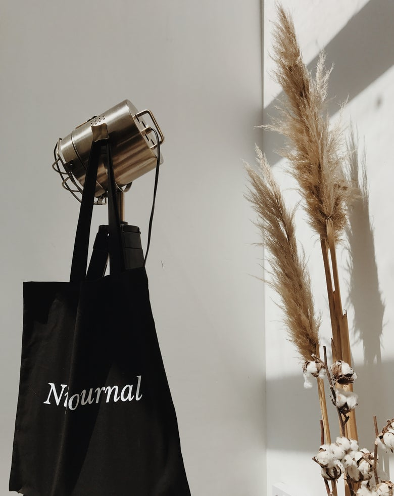 Image of Niijournal Madras Heavyweight Cotton Tote